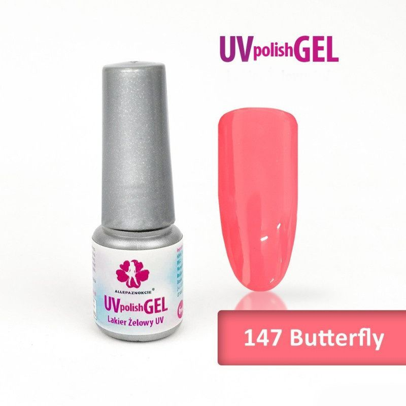 147.Uv gel lak Butterfly 6 ml