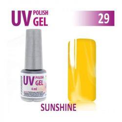 29.UV gel lak na nehty hybridní SUNSHINE 6 ml (A)