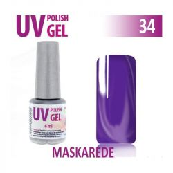 34.UV gel lak hybridní MASKAREDE 6 ml (A)