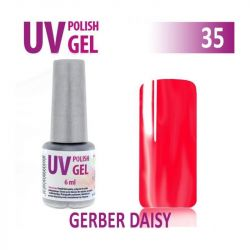 35.UV gel lak hybridní GERBER DAISY 6 ml (A)