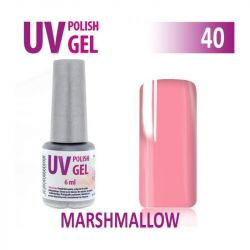40.UV gel lak hybridní MARSHMALLOW 6 ml (A)