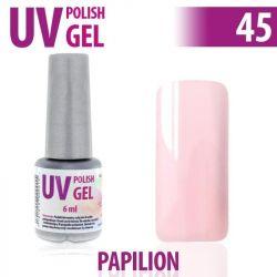 45.UV gel lak na nehty hybridní PAPILION  růžový 6 ml (A)