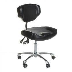 Tetovací stolička otočná s opěradlem ELMO INKOO