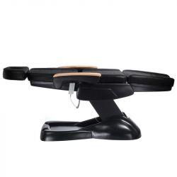 Elektrické kosmetické křeslo LUX - černé