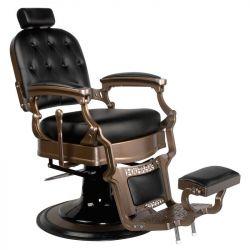 Barbers křeslo  OLD ERNESTO černé (AS)