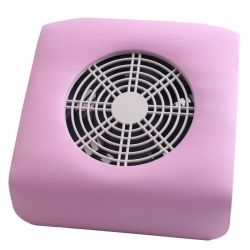Profesionální odsávačka nehtového prachu - růžová