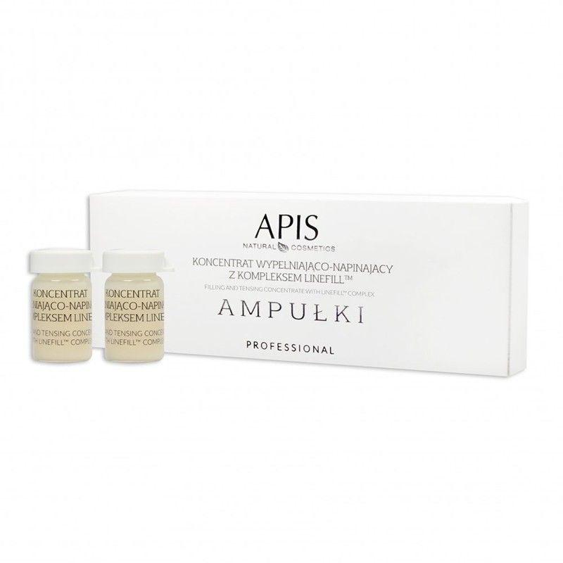 APIS AMPOULES Výplňový a protahovací koncentrát s komplexem Linefill TM 5x5ml
