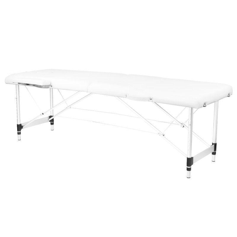 Skládací masážní stůl KOMFORT 2 - bílý