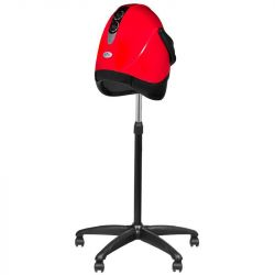 Vysoušeč na vlasy na stativu GABBIANO LX-201S - červený