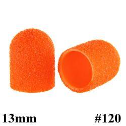 Brusné kloboučky 13 mm/120 - oranžové (1 ks)