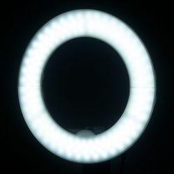 """Prstencová lampa RING 10"""" 8 W LED černá"""