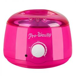 Ohřívač depilačního vosku na plechovky 400ml, 100W růžový (AS)