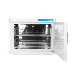 Ohřívač ručníků s UV- C sterilizátorem 23 l - bílý